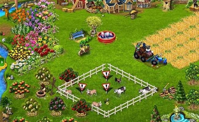 Free Time Management Games Online Farmerama