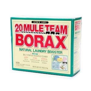 これがBoraxの箱。ドラッグストアならどこでも手に入るはず。