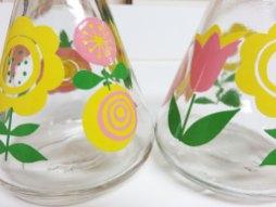 かわいい三種のお花のパターン!