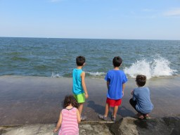 エリー湖が眺められるEdgewater Park