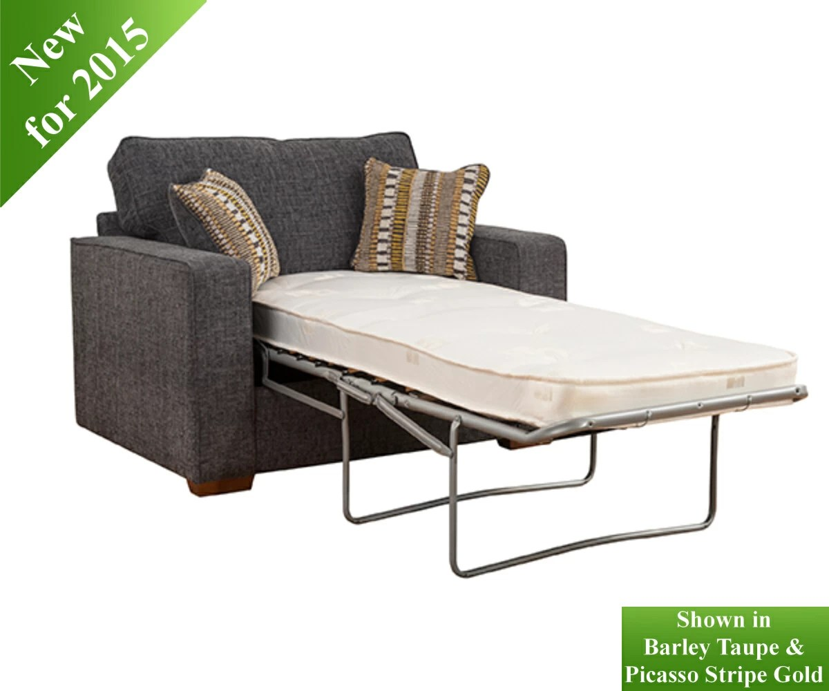 chicago sofa bed cordele chrome and glass table buoyant 1 seater beds rg cole