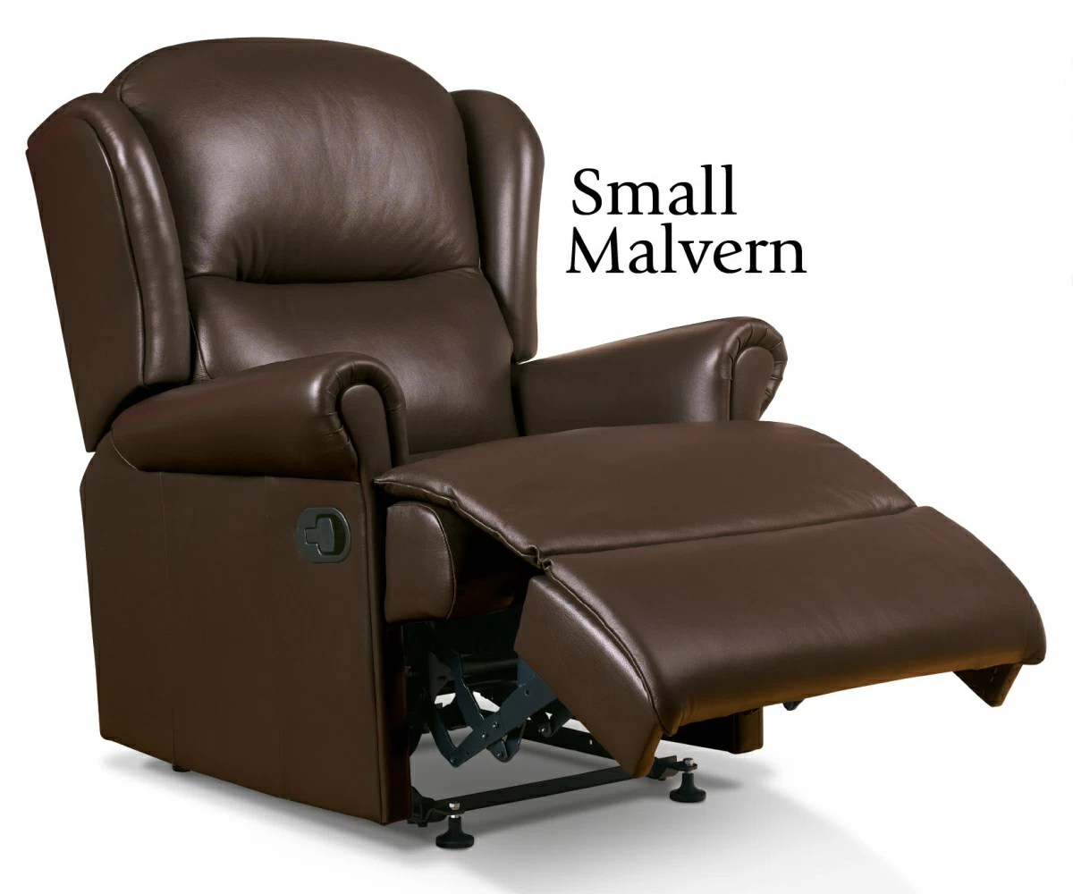 Sherborne Malvern Hide Small Recliner Chair Manual or