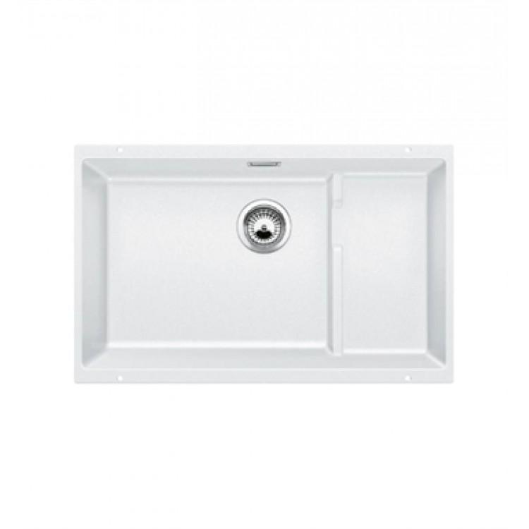 27 kitchen sink kitchens remodeling blanco 519453 precis 1 2 single bowl undermount silgranit in white