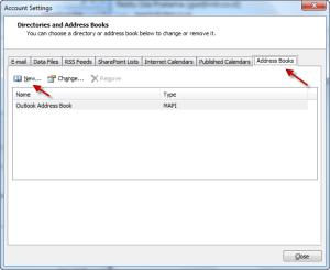 Outlook Zimbra LDAP 01