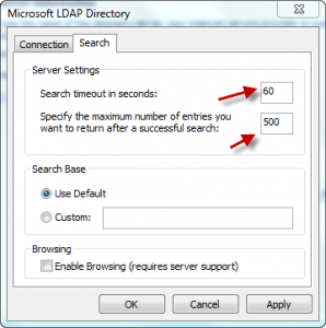 Outlook Zimbra LDAP 06