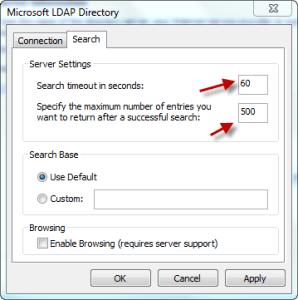 Outlook Zimbra LDAP 06