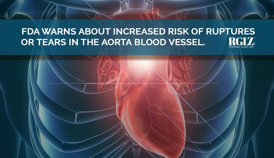 Aorta FDA Warning Antibiotics causing ruptures
