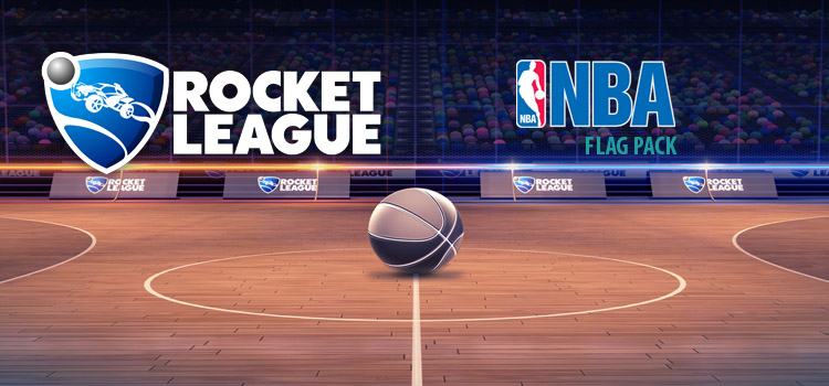 Rocket League NBA Flag Pack Free Download PC Game