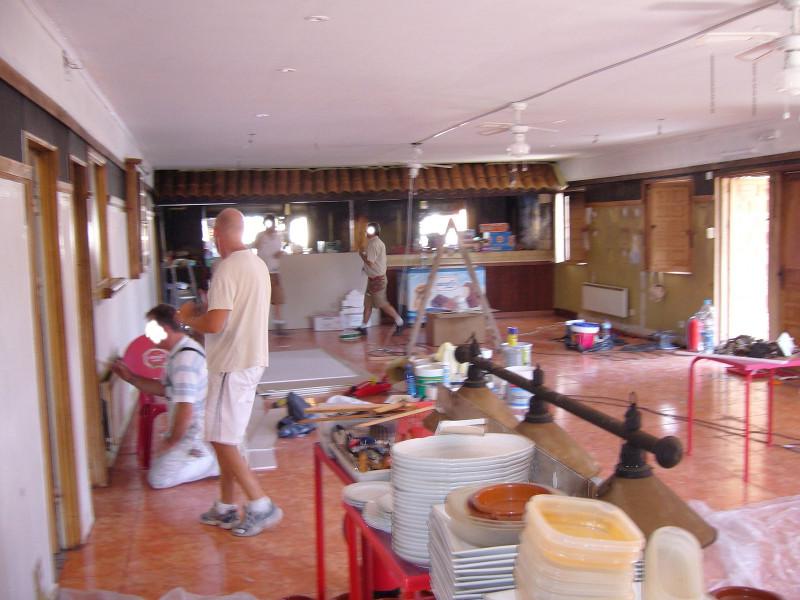 ristrutturazione interno bar ristorante