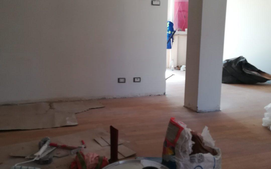 Lavori di ristrutturazione di un appartamento nel quartiere Talenti a Roma