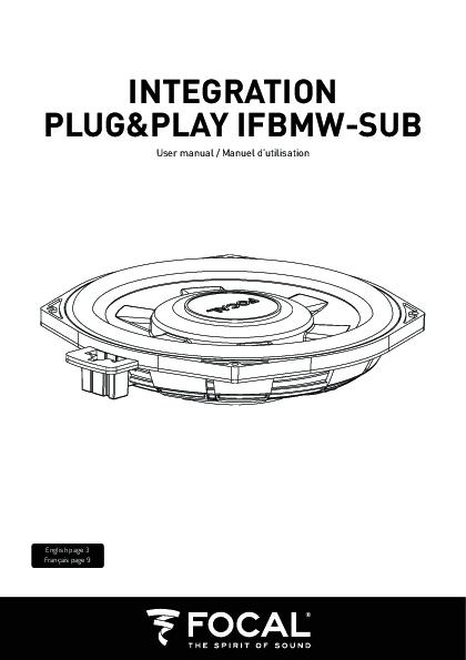 Focal IFBMW-SUB.V2 subwoofer sottosedile per BMW