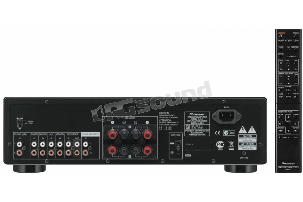 Pioneer A30K Classe D 70W  Colore nero  Diffusori Home