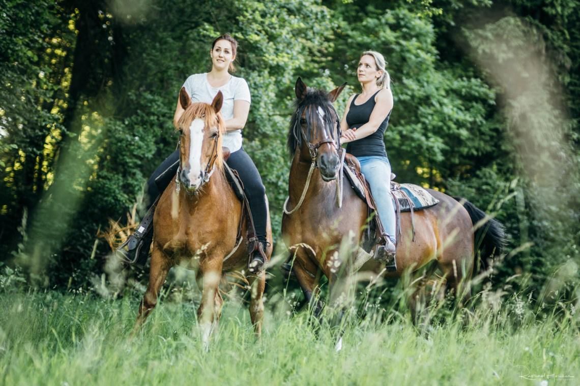 Pferdeshooting Cynthia und Tamara