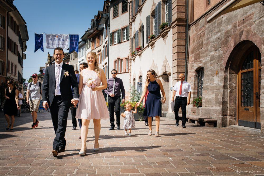 Hochzeitsmarsch Rheinfelden