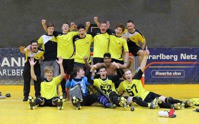 Dornbirn´s U20-Team erstmals Schweizer Meister!