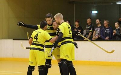 Die Dornbirner schossen die Stiere aus  dem Cup-Bewerb und stehen im Viertelfinale