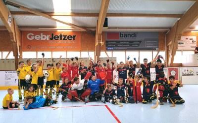 U9 sammelten erste Erfahrungen in Diessbach