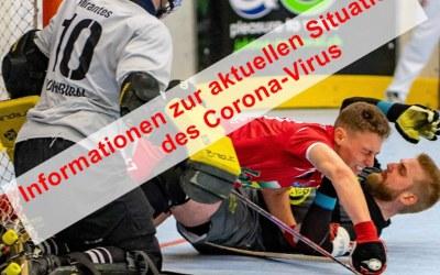as Corona-Virus hält die ganze Welt in Atem –  alle Rollhockeyspiele wurden für dieses Wochenende abgesagt!