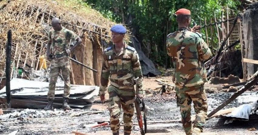 Forces armees de Cote d'ivoire en ratissage au nord du pays