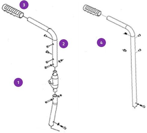Push Handle-Backrest