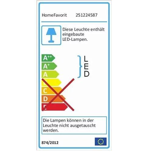 LED Unterbaulampe Unterbauleuchte label