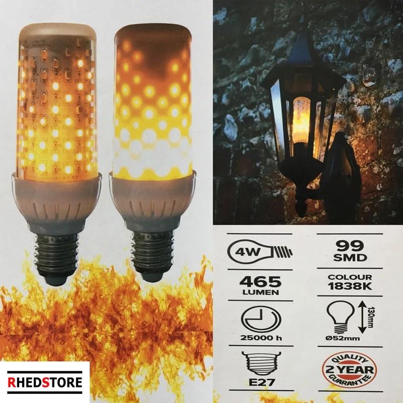 LED feuer lampe Fackel