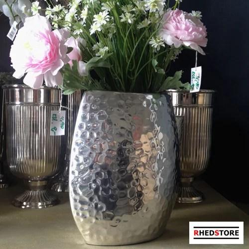 Aluminium Designer Vase