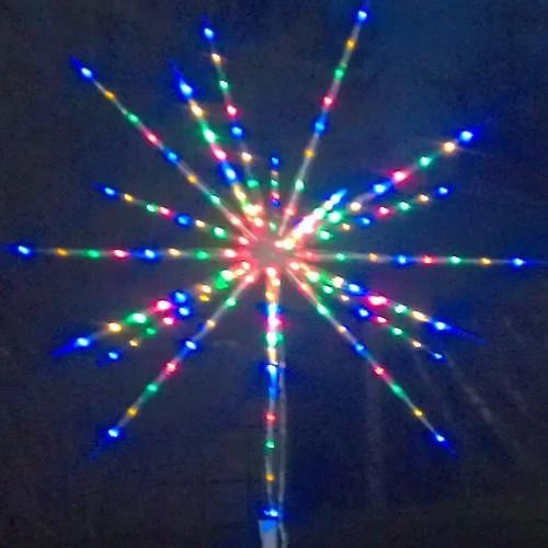 Fireworks LED Stern Bunt