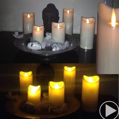 LED Kerze set