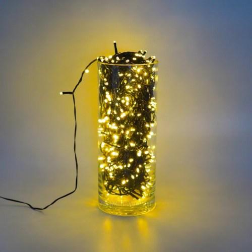 Lichterkette warmweiss