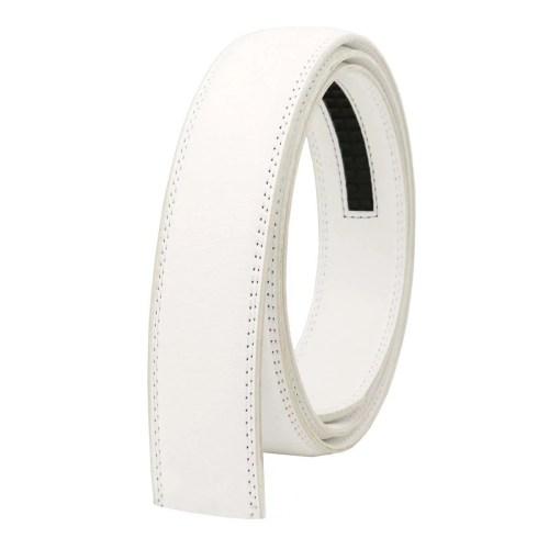 Gürtelband für automatik Gürtelschnalle Weiß