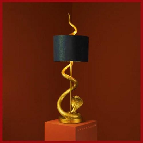Tischleuchte Stehlampe King Kobra