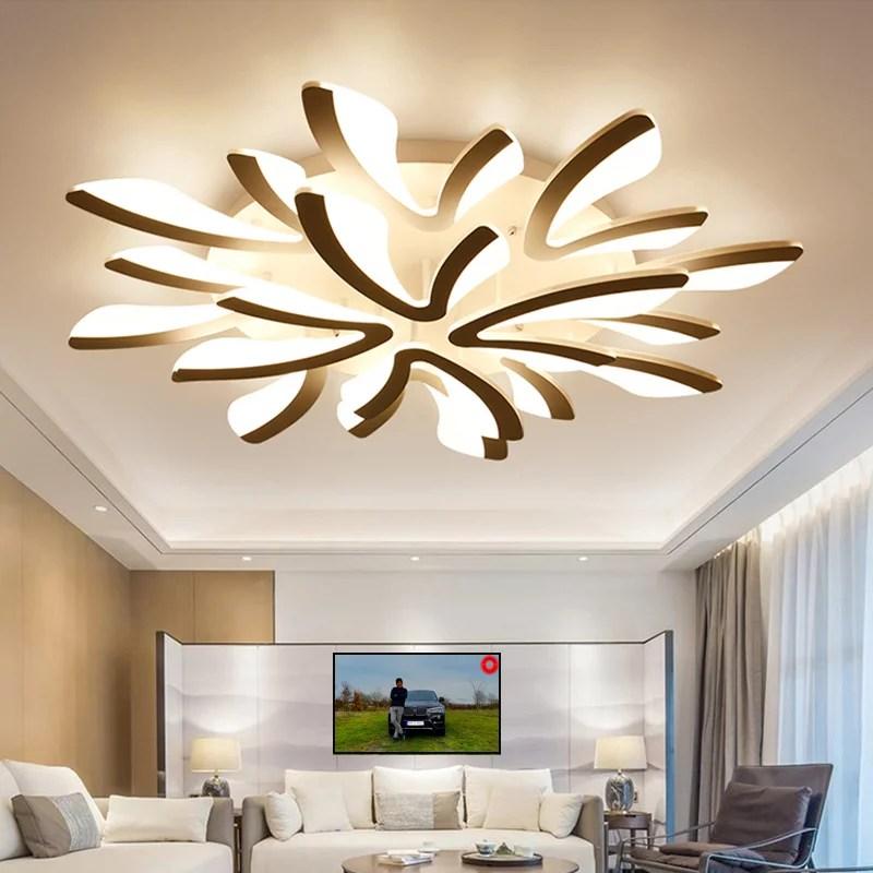 """LED Deckenlampe Deckenleuchte Modern Design warmweiß """"C8019-12"""""""