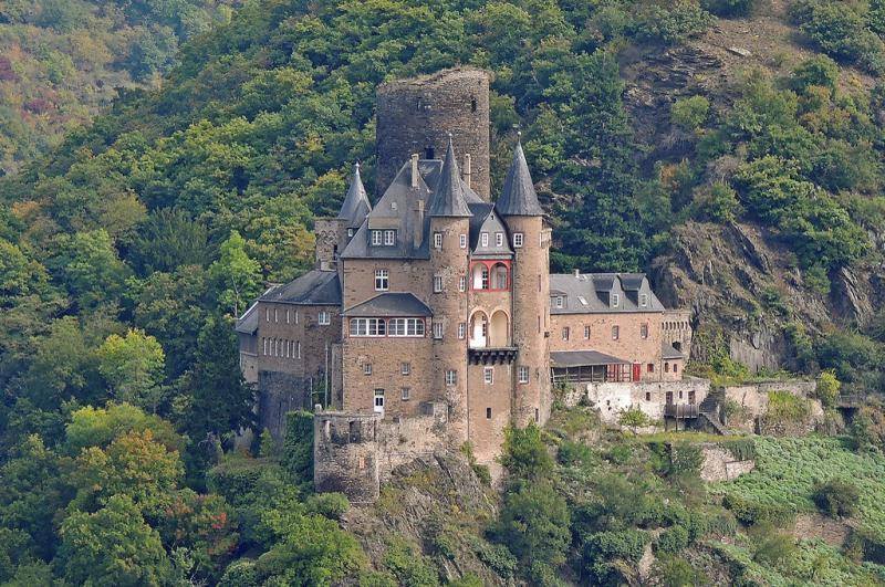 Billedresultat for Burg Katzenelnbogen (Burg Katz)