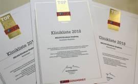 Urkunde Focus Klinikliste