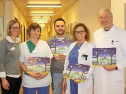 Lions Adventskalender gehen an Mitarbeiter des Helios Klinikum Siegburg