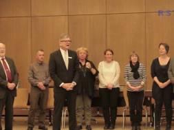 Feierliche Einbürgerung in Siegburg