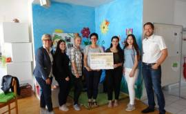 Spendenübergabe Kinderhospizdienst
