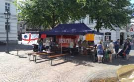 Spendenstand Siegburg 2