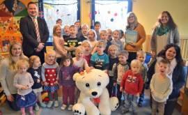 Lesestunde für Kindergärten in Königswinter am 4.12.2018 (P) Foto Bernd Kolb