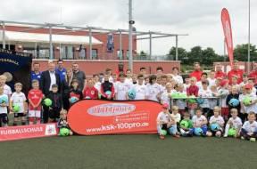 Fußballcamp 15.-18.7.2019 in Rheidt (P) Foto Kreissparkasse Köln