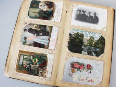 Ansichtskarten Buch