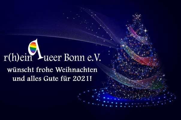 Weihnachtsgrüße des R(h)einqueer Bonn e.V.