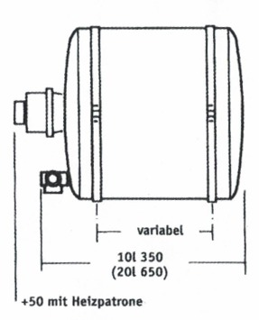 Boiler HZK 10 Piccolo