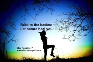 rh negative nature connection