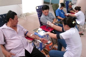Between 0.4 and 0.7 per thousand of Vietnamese, a lower rate than many other countries, have Rh-negative blood.