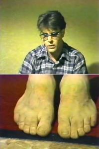 webed-feet