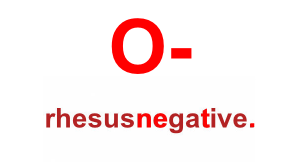 RH- BLOOD - The upsides and downsides of blood type personalities O-negative