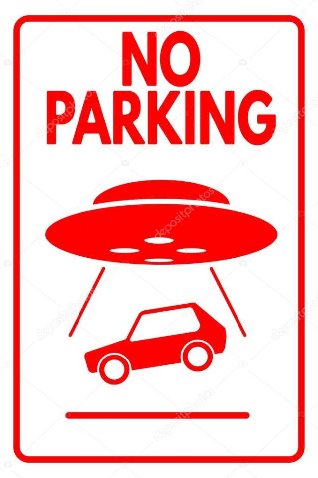 """Were the Neanderthals rh negative?"" Depositphotos_71209171-stock-illustration-sign-no-parking-ufo-evacuation"