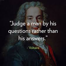 RH- Blood Type - Are you questioning everything? Voltaire